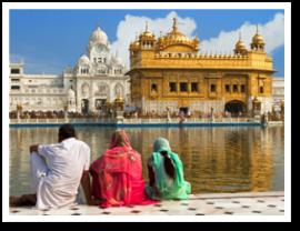 Kaschmir goldener Tempel